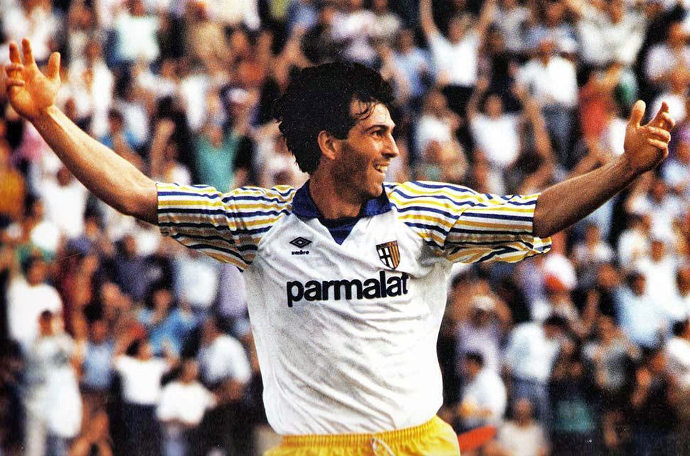 1990, Sandro Melli segna il gol che vale la serie A