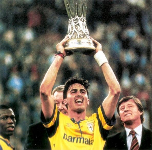 Dino Baggio e la Coppa Uefa 94-95