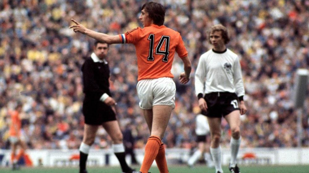 Cruyff capitano dell'Olanda