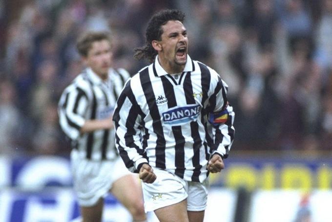 Roby Baggio in bianconero