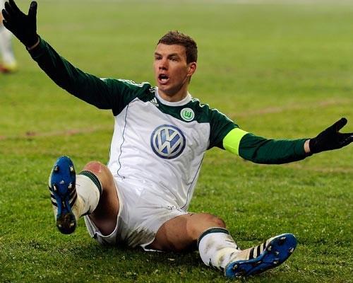 Dzeko, Wolfsburg