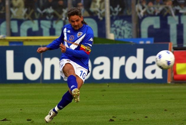 Roby Baggio al Brescia