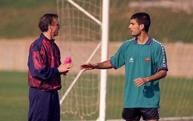 Cruyff allenatore del Barca