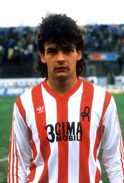 Roby Baggio ai tempi del Vicenza