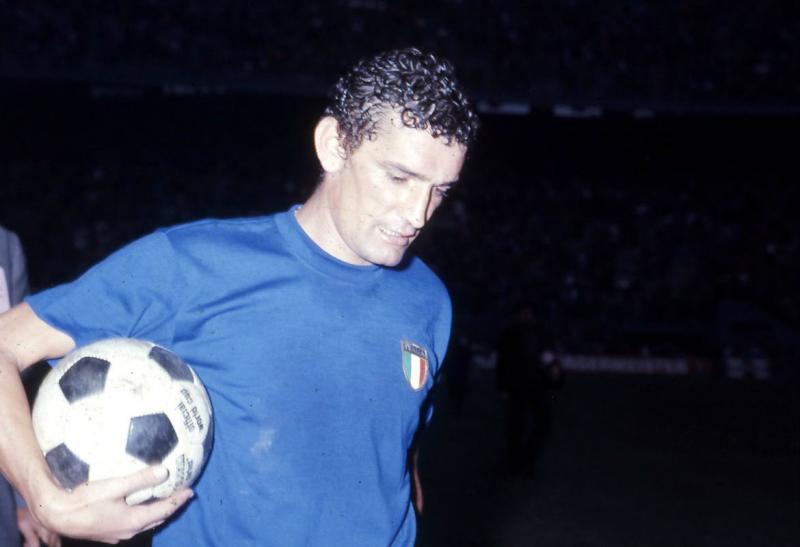 Riva vinse l'Europeo del 68 con la maglia Azzurra