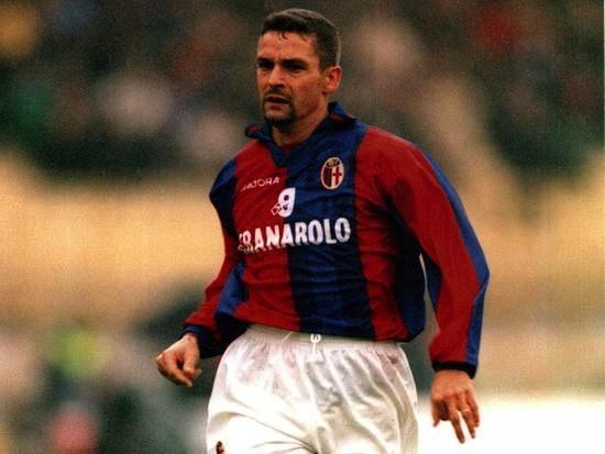 Roby Baggio nel Bologna