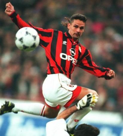 Roby Baggio in rossonero